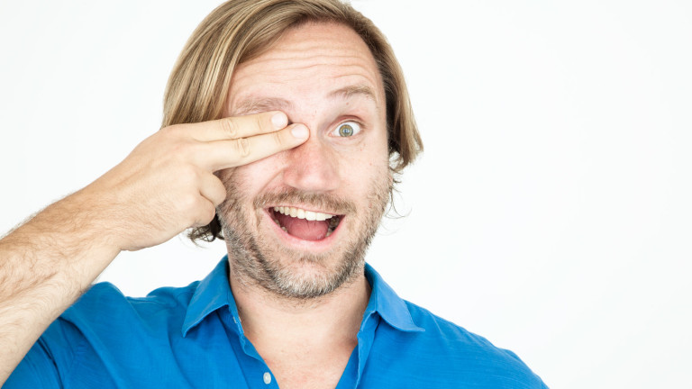 Mit welchem Auge schaust du durch den Sucher?
