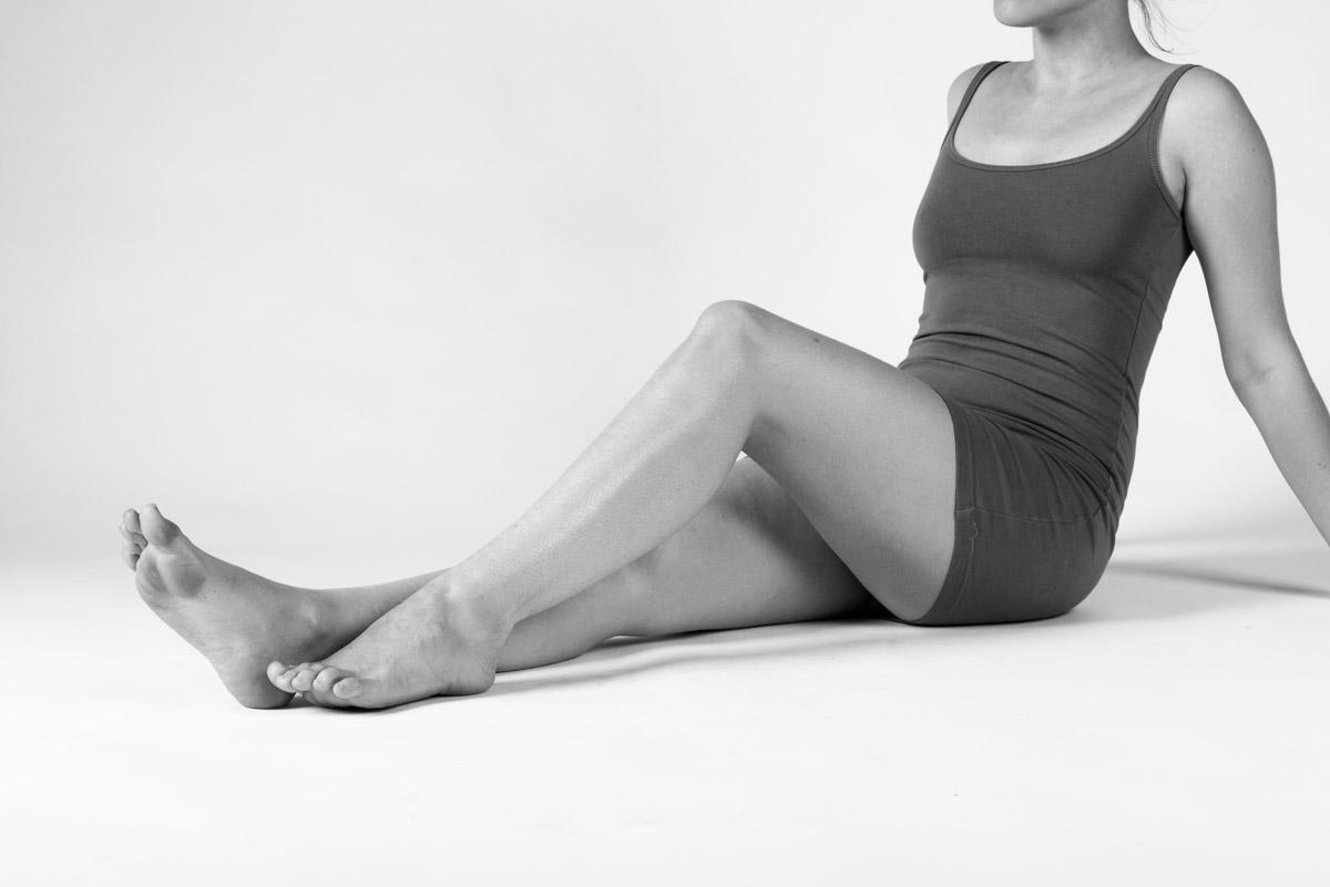 Beine offene körpersprache frau Körpersprache beim